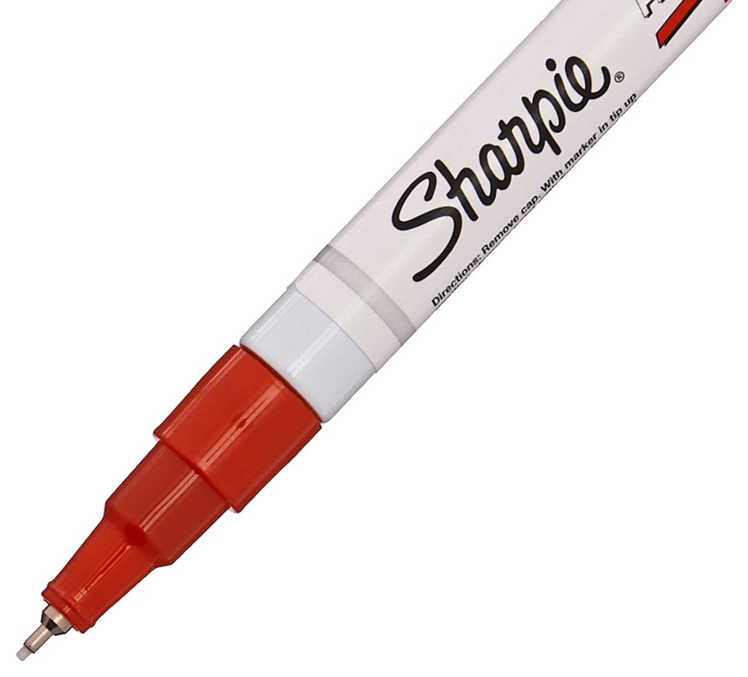 Sharpie Oil-Based Paint Markers Extra Fine Point 8//Pack Assorted Ink