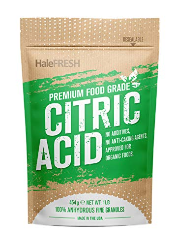Citric Acid - 1 lb USA Made Pure for Bath Bombs - Gluten Free Kosher No GMO's - Verified for Organic...