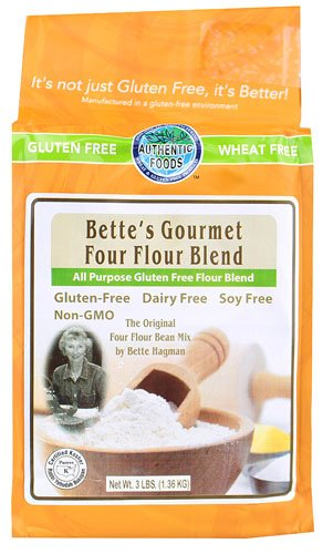 Authentic Foods' & Bette's Gourmet Four Flour Blend by Authentic Foods