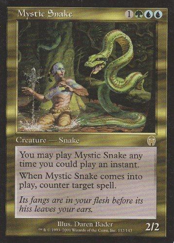 Mystic Snake (Magic the Gathering : Apocalypse #112 (Mystic Snake)