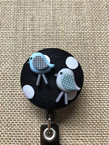 Baby Animals Retractable ID Badge Holder - Badge Reel Clip - Your Animal Choice