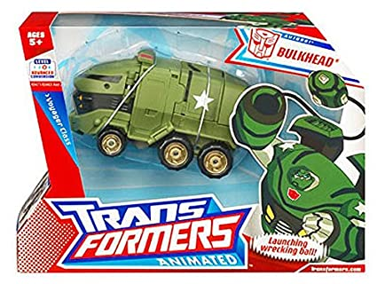Amazon Hasbro Transformers Animated Voyager Bulkhead Toys Games