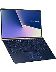 ASUS ZenBook 14 UX433FN 90NB0JQ2-M04820 Ultrabook (35,5 cm, 14 Zoll, FHD, WV, Intel Core i7-8565U, 16GB RAM, 512GB SSD, NVIDIA GeForce MX150 (2GB), Windows 10) Royal Blue