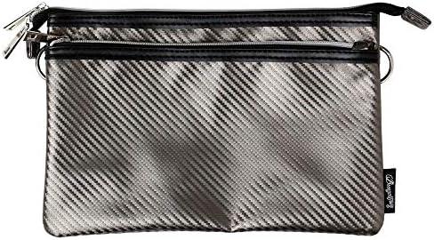 (アトリエ 365) atelier365 カーボン調 サコッシュバッグ ショルダーバッグ 斜め掛けバッグ 2way/oth-ux-bag-1807