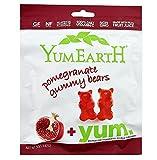 YumEarth Organic Gummy Bears & Worms Organic Gummy Bears Pomegranate 5 oz. - 3PC