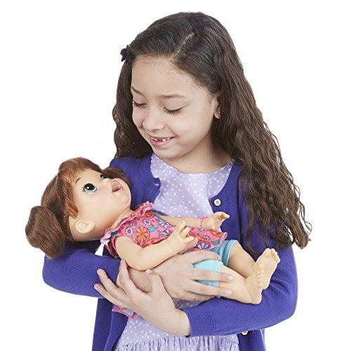 Baby Alive Super Snacks Snackin' Sara Brunette