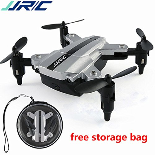 Toy, Play, Fun, JJRC H54W Mini Foldable Drone With W/480P Camera WiFi E-Fly FPV Altitude Hold Mode RC Quadcopter BNF VS Shadow Eachine E59 JJR/CChildren, Kids, Game