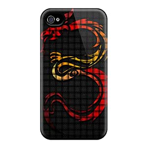Waterdrop Snap-on Tribal Dragon Cases For Iphone 6