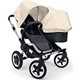 Bugaboo Donkey Duo Stroller Bundle - Off White