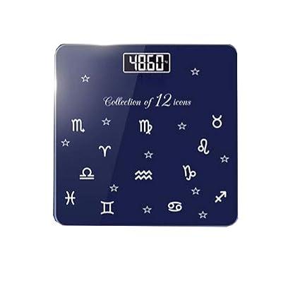 WY-weighing scale Básculas de baño Digitales con balanzas y Oficina de Gimnasia doméstica compacta
