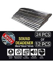 50x30CM Car Sound Deadener Heat Insulation Shield Noise Deadening Proofing Foam