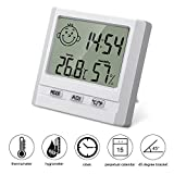 BONROB Hygrometer Thermometer Digital Indoor Humidity Meter Room Temperature LCD Hygrometer BC020