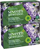 Seventh Generation Fabric Softener Sheets - Blue Eucalyptus & Lavender - 80 ct - 2 pk