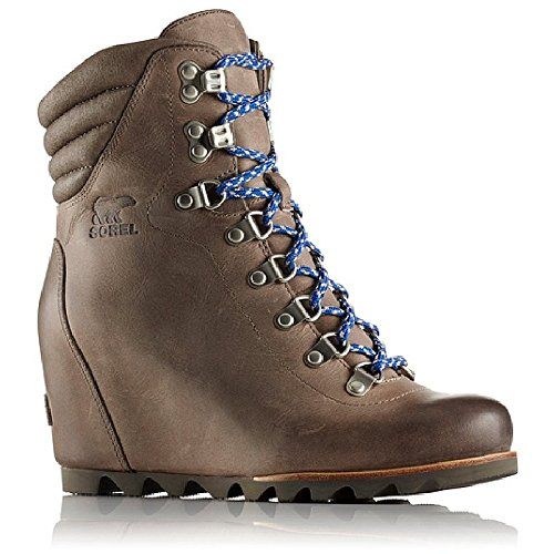 Sorel Womens Conquest Wedge Booties (9, Kettle)
