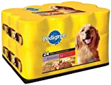 Pedigree Meaty Ground Dinner Mixed Chunky Beef and Chunky Chicken, 22-Ounce (Pack of 24), My Pet Supplies