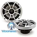 Wet Sounds XS-65i Series 6.5'' Silver Cone Marine Coaxial Speaker - 120 Watts Max / 60 Watts RMS
