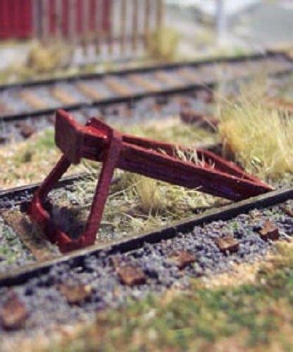 Osborn Models HO * RAIL END BUMPERS * EZ Assembly Kit * New #RRA1096