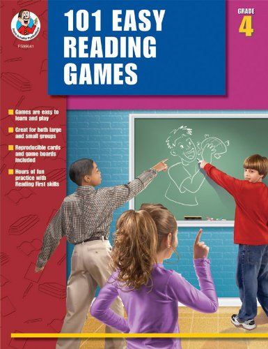 101 Easy Reading Games, Grade 4 PDF