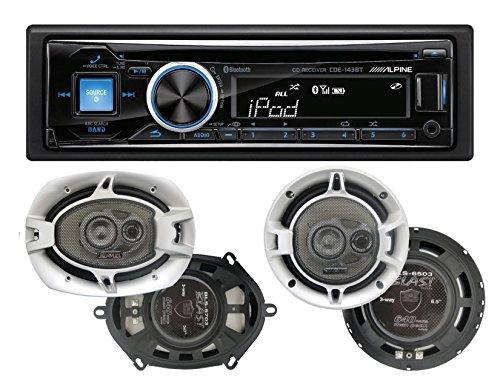 Alpine Cde 143bt Cdusb Receiver With Advanced Bluetooth And