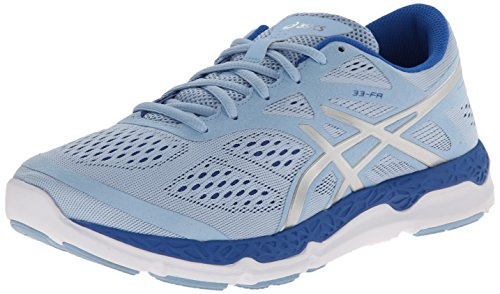 ASICS Women's 33-FA, Powder Blue/Lightning/Blue, 7 B - Medium