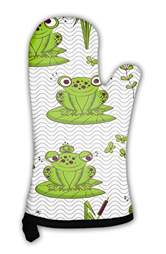 Gear New Oven Mitt, Pattern Frogs, GN1461 by Gear New