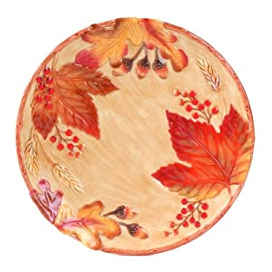 Harvest collection canape plate kitchen dining for Fitz and floyd canape plate