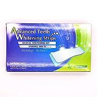 لاصقات تبييض الأسنان المطور ADVANCED TEETH WHITENING STRIPS so fast