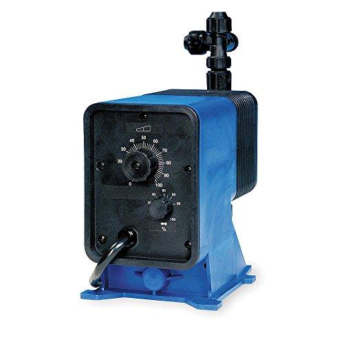 Pulsafeeder - LBS4SA-KTC1-G19 - Diaphragm Chemical Metering Pump, Adjustable Output, 58.00 GPD Max. Flow, 100 psi, 115VAC