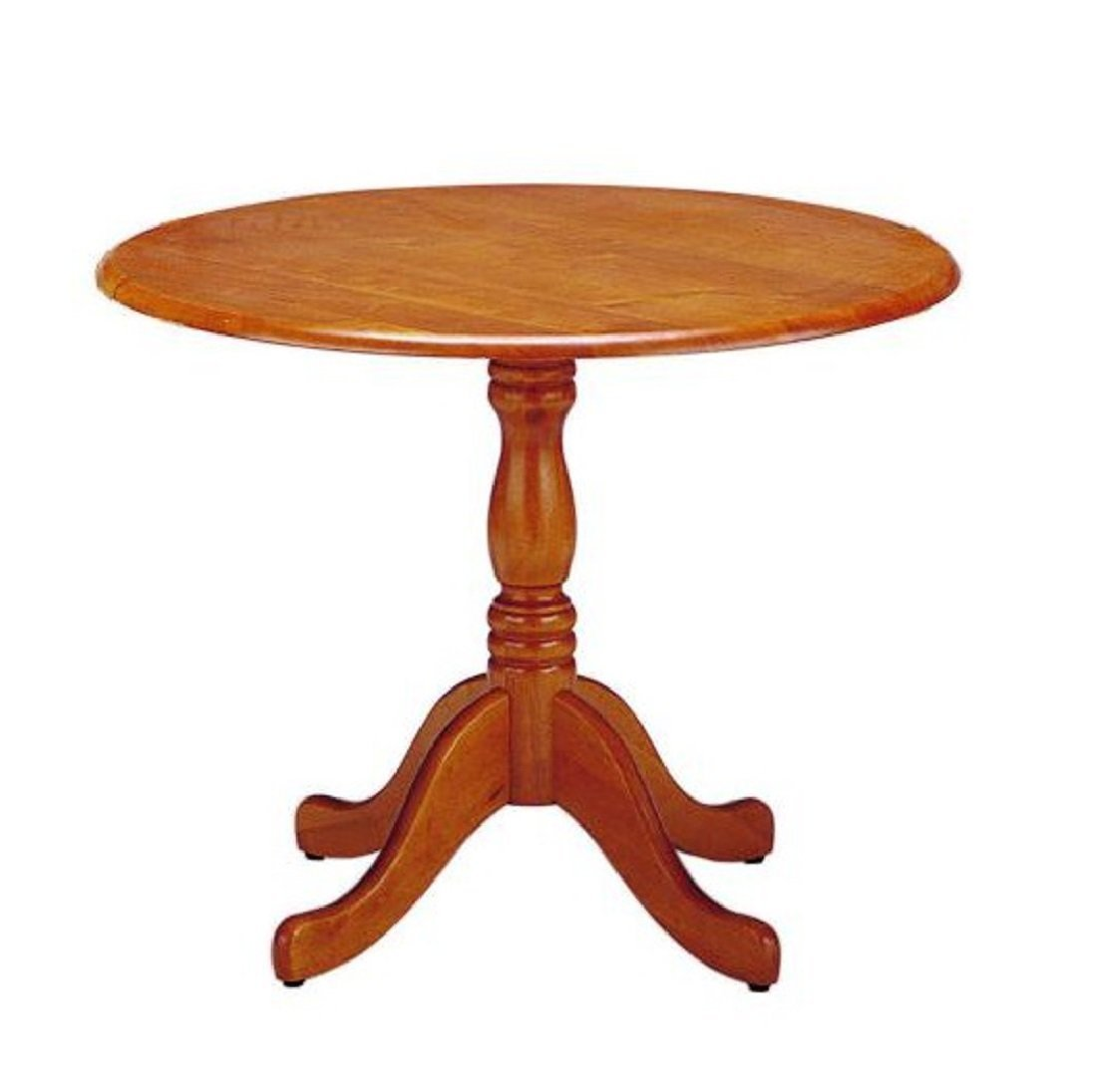 SINAPP 円卓 ラウンドテーブル 木製 天然木 北欧 SIK0297 ブラウン B0771HDGQF