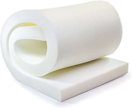 FoamTouch Upholstery Foam Cushion 3 H x 24 H x 72 L High Density
