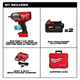 """M18 Fuel Onekey 1/2"""" High Torque Impact Wrench Kit"""