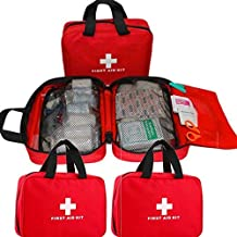 Fanxis First Aid Kit for Hiking, Backpacking, Camping, Travel, Car & Cycling,Large Waterproof Emergency Bag