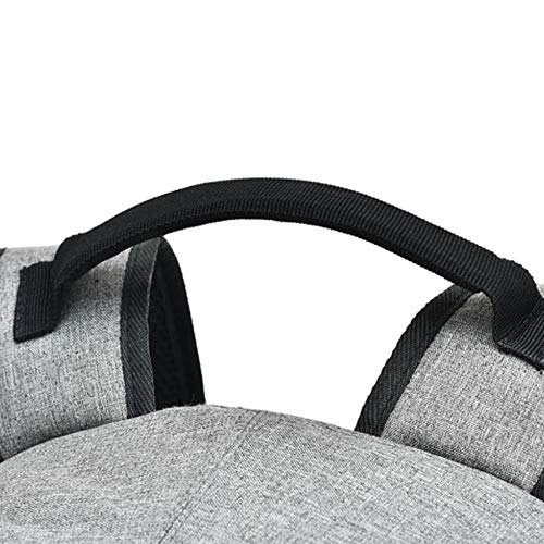 Backpack Gray Interface Usb capacity Dhfud Anti Leisure External Business theft Men's Large TwdxqpC