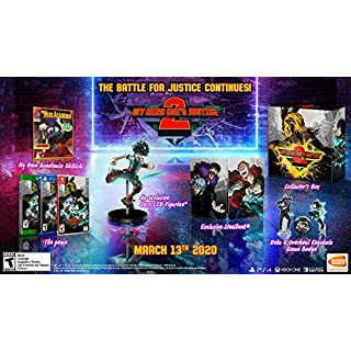 MY HERO ONE'S JUSTICE 2: Collector's Edition - Nintendo Switch