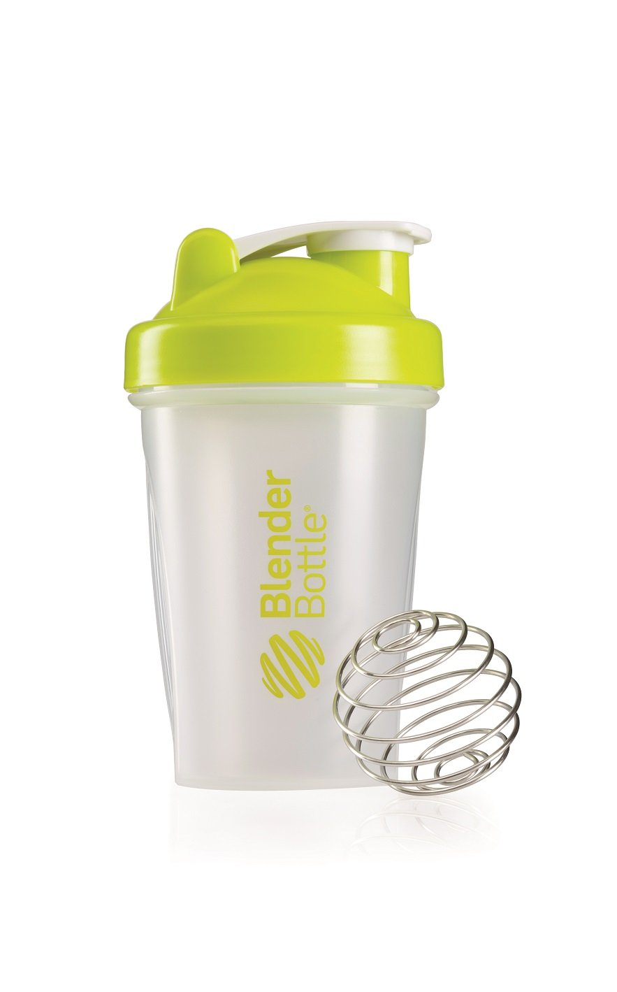 BlenderBottle Classic (Discontinued Style), 20-Ounce, Clear/Green