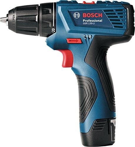 Bosch 06019F70G0 Taladro Atornillador Gsr 120-LI Incluye Maletín