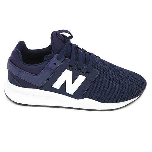 Zapatillas de Chica New Balance KL247TOG Marino J: Amazon.es: Zapatos y complementos