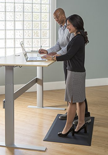 Imprint CumulusPRO Commercial Grade Standing Desk Anti-Fatigue Mat 24 in. x 36 in. x 3/4 in. Black