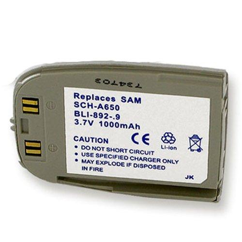 Empire Industries SAMSUNG SCH-A650 LI-ION 1000mAh Battery...