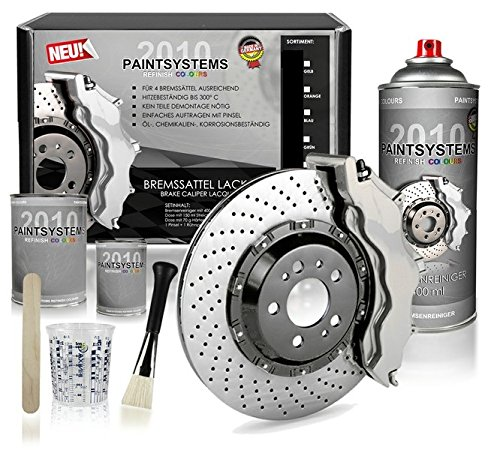 Bremssattel Lackset silber 6-teilig Paintsystems GmbH
