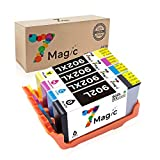 7Magic Remanufactured 902 902XL 902 XL Ink Cartridges Compatible for OfficeJet Pro 6978 6968 6954 6978 6970 6975 6962 Printer (1 Black, 1 Cyan, 1 Magenta, 1 Yellow)