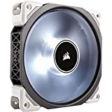 Corsair ML120 Pro LED, White, 120mm Premium Magnetic Levitation Cooling Fan, CO-9050041-WW