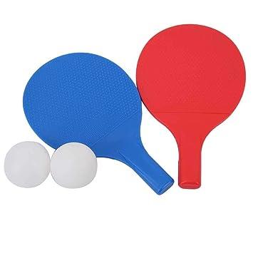 Fafeims Juego de Raqueta de Ping Pong para niños, Mesa de Ping ...
