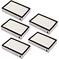 KEEPOW 5 Pack Vacuum Hepa Filters for Kenmore EF-2, 86880, 20-86880, 610445 Sears Vacuum Cleaners, Panasonic (MC-V194H)