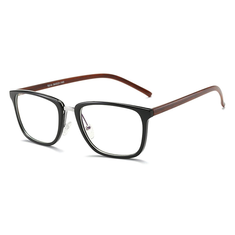 Anti gafas de luz azul claro gafas lente Geek / Nerd gafas retro marco para hombres mujeres Highdas