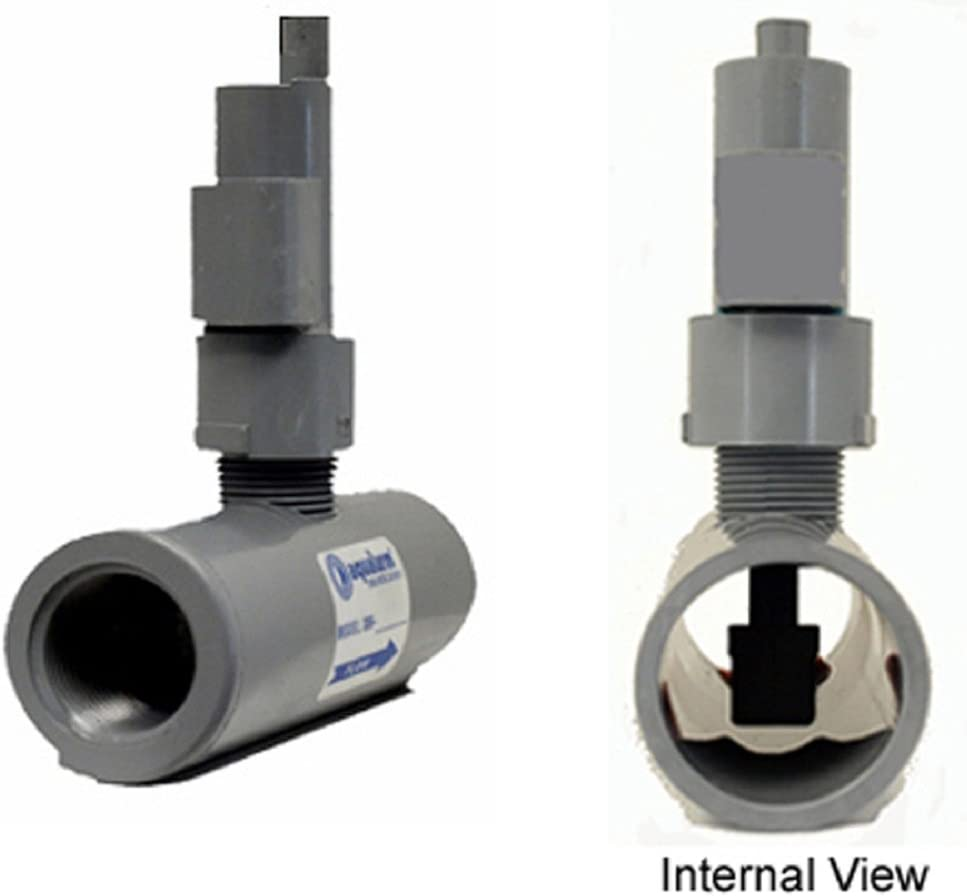 """Aqualarm 1"""" FPT Liquid Flow Detector, Paddle Type, Model 40371, 1"""" CPVC, Threaded, Normally Closed, 1.5 GPM LOW FLOW"""