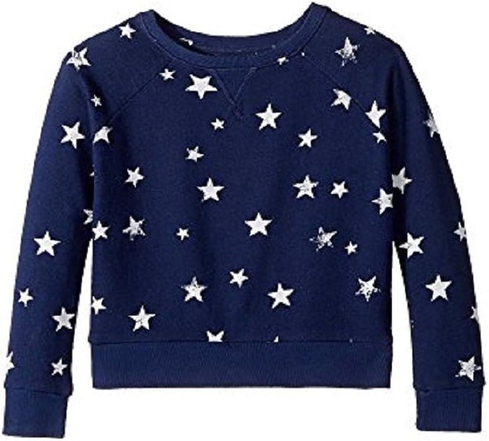 Blue Ralph Lauren GirlsAmericana French Terry Star Sweatshirt