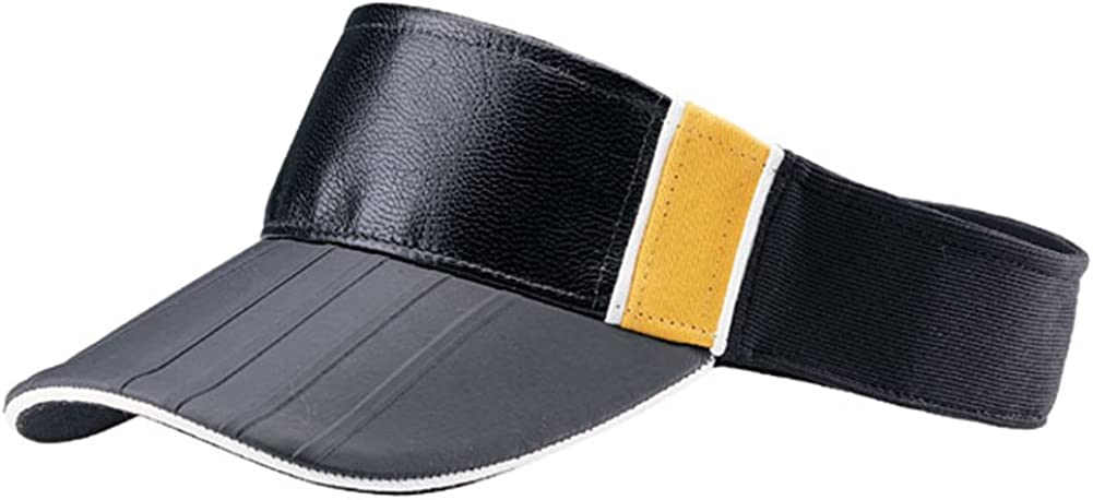 PU LEATHER LOOK FRONT VISOR