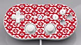 Fun Flowers Pattern Bold Wii Classic Controller Vinyl Decal Sticker Skin by Debbie's Designs