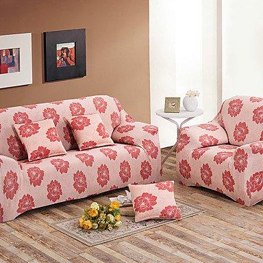 Amazon.com: WWQY Printed compact towel full sofa sofa slip elastic ...